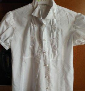 Школьная блузка рост 140