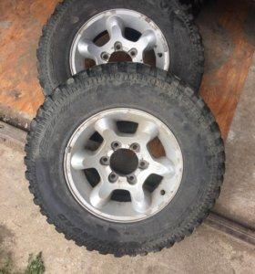 Комплект колёс на грязевой резине