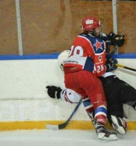 Набор в детскую хоккейную секцию г Артём