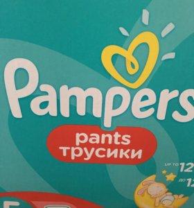 Трусики памперс 5. Pampers. Новые