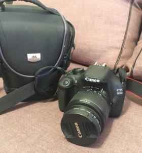 Фотоаппарат кенон 1200д