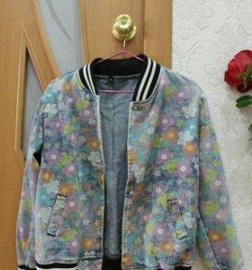 Бомбер/Куртка джинсовая