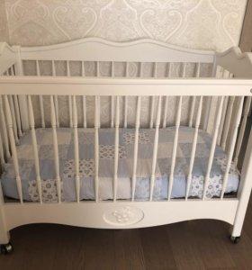 Детская кроватка Jan@Sofie