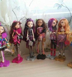 Куклы:эвер автер хай,монстер хай,винкс