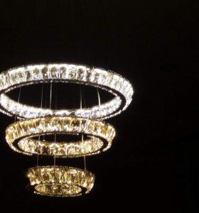 Люстры светодиодные LED