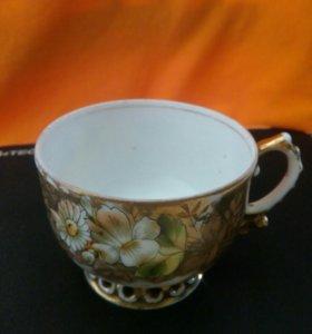 Чайная чашка старинная И.Е. Кузнецов