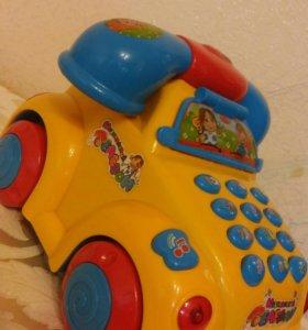 Интерактивная машинка-телефон