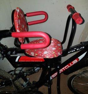 Новое Детское велокресло