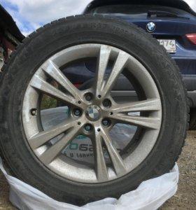 Комплект колёс (4шт) диски+резина на BMW X1 (F48)