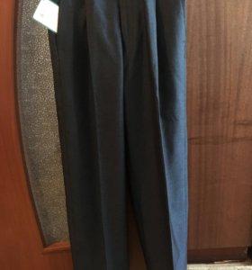 Новые школьные брюки на плотного мальчика