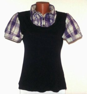 Рубашка - футболка женская «Atmospere». 46 - 48