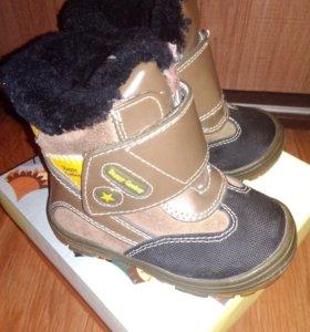 Зимние сапожки на мальчика, 22 размер