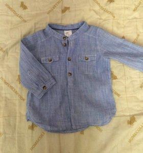 Новая детская рубашка