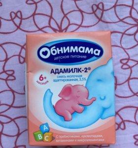 Детская смесь и творог с молочки 6+