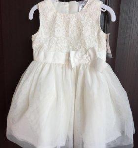 Платье carters новое (размер 80)