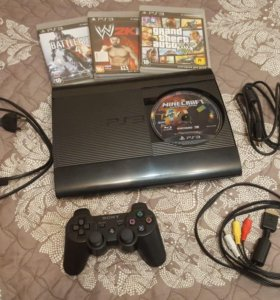 Игровая приставка PlayStation 3 Super Slim