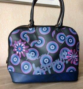 Креативная сумка Desigual из Испании