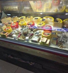 Продавец в отдел сыров и кондитерских изделий