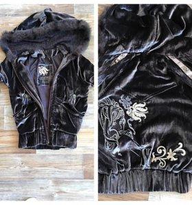 Бархатная курточка sasofono