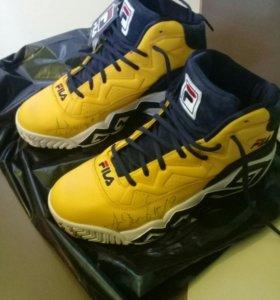 Fila yellow кросовки