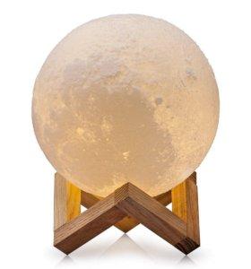 "3D Лампа - ночник ""3D moon night lamp"""