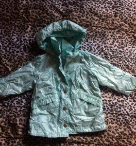 Куртка на флисе Шалуны размер 80