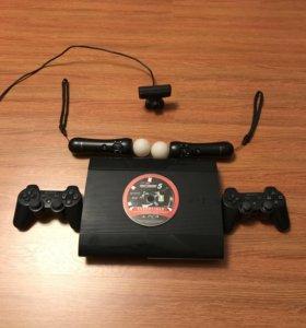 PS3 500 Gb + move + eye ТОРГ