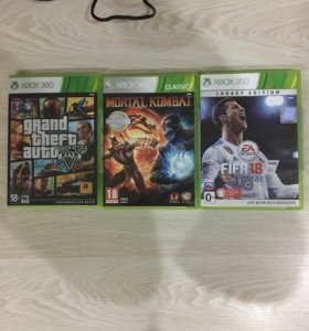 Игры Xbox 360 оригинал