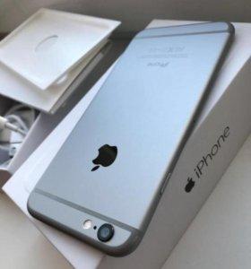 iPhone 6 space-gray 16gb (Идеальный)