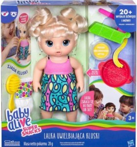 Интерактивная кукла Baby Alive Hasbro