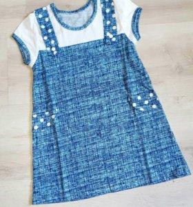 Новое платье р-р 104