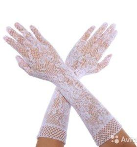 Новые ажурные перчатки