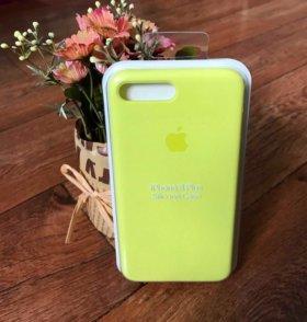 Новые Silicone Case на iPhone 7/8+