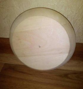 Вентиляционная заглушка для сауны/бани липа d-125