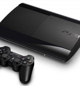 PS3 Super Slim + Игры