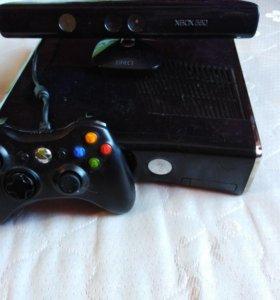 Xbox 360 прошитый с кинектом (kinect) +25 игр.