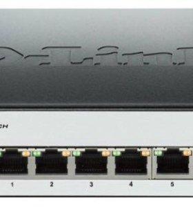 Коммутатор Switch D-link dgs 1100 08p