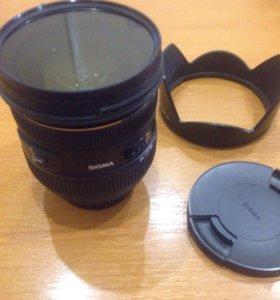 Объектив sigma ex 24-70 2.8 dg hsm для Nikon