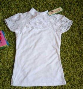 Новая блузка 130-140см