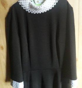 Платье школьное, новое