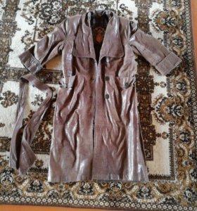 Пальто кожаное ORYAN