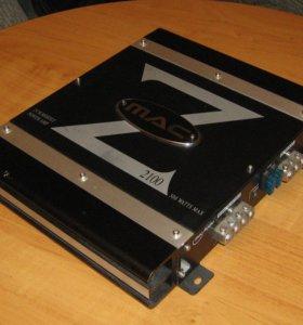 Macaudio Z 2100 , 2х70 Вт , 1х200 Вт макс 500 Вт