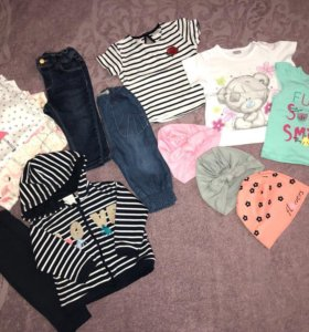 Одежда для девочки 6-9 мес