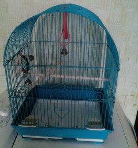 Клетка для птиц.