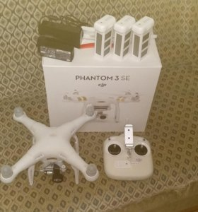 DJI Phantom 3 SE (расширенная комплектация)