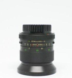 Широкоугольный объектив vivitar для Canon FD с пер