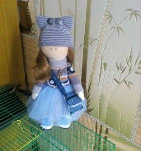 Кукла ручной работы 25см ,2500рублей