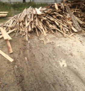 Горбыль дровяной, срезка бесплатно