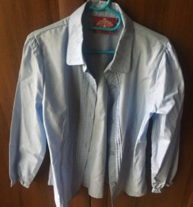 Рубашка для девочки новая, размер 128