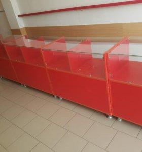 столы-витрины